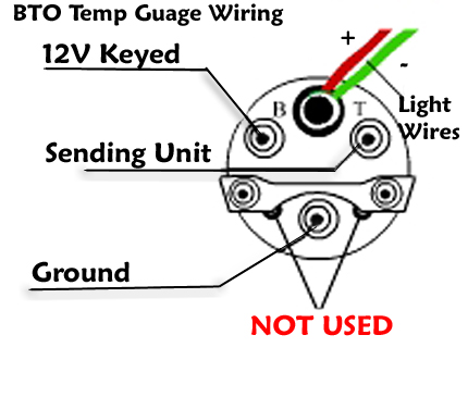 Instructions on voltmeter wiring diagram for car
